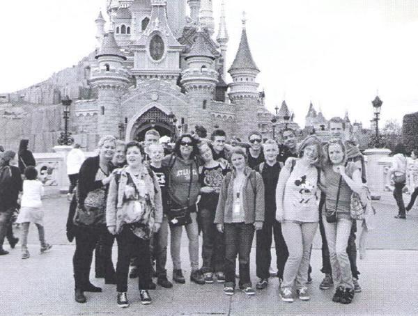 Parijs Disneyreis SWGN De groep