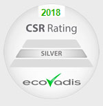 Certified with Silver for CSR Rating